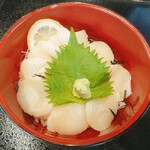 ウル松島 - 帆立丼