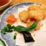 食楽魚一 - 白子天ぷら