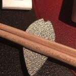 128726999 - 桜の箸おき