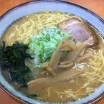 麺屋 ささき - ラーメンダブル(2玉)