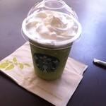 スターバックス・コーヒー - 抹茶クリームフラペチーノ(470円)