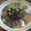 長浜ラーメン力 - 料理写真:きくらげラーメン=680円