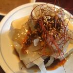128733969 - 生ザーサイ豆腐。