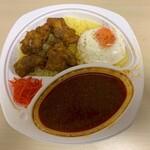 インド定食ターリー屋 - チキンパコラ定食(辛口キーマ)