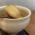 アキカフェ - 生姜のスライス