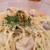 東北酒場 トレジオンポート - 料理写真:山形さくらんぼ鶏のクリームシチューパスタ