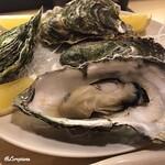 浜味屋 - 蒸し牡蠣