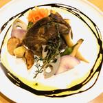 ラ・パッキア - 信州産SPF豚肩ロース肉のコンフィバルサミコソース