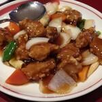 福寿飯店 - 料理写真:酢豚