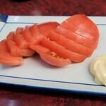 やしろ食堂 - 冷やしトマト