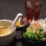 味鉄 - サラダ、スープ