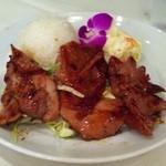 L&L ハワイアンダイニングカフェTOKYO - BBQチキンプレート単品780円→500円(チケットにて)