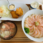 甘えびファクトリー蝦名漁業部 - 甘えびセット
