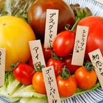 丸五水産 築地青果 - 厳選トマト5種食べ比べ 580円