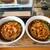 桃中軒 - 料理写真:海老と野菜のかき揚げ蕎麦