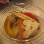 128761752 - 野菜のマリネ