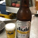 半田屋 - 瓶ビール大500円