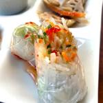 スパイスガール - カオマンガイ&ミニフォー(800+200円で前菜・生春巻き・デザートセット)