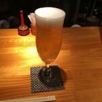 焼鶏処 田楽 - ドリンク写真:生ビール