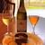 プティレストラン グーテ - ドリンク写真:白ワイン&ノンアルコールビール