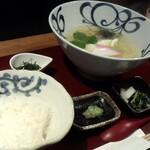 128777470 - 鯛そば鯛茶漬け(1,050円)
