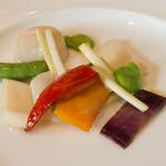 馥香 - ホタテと彩り野菜のあっさり炒め