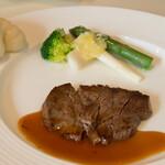馥香 - 牛フィレ肉のソテー A1ソースがけ