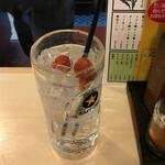 かっちゃん - 4杯目は梅干サワー