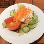 ボンジョルノ - 小海老のサラダ