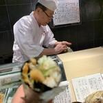 第三春美鮨 - 鯖巻き