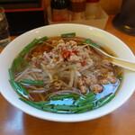 中華料理 紅華楼 - 台湾ラーメン(580円)