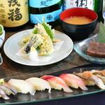 さしみ茶屋 樽寿司 - 2020年春のランチ。