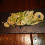 Osuteriayururi - ホタテ、のっかっている野菜も美味しい