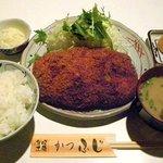 1288049 - かつふじ 「ジャンボメンチカツ定食」