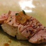 福鮨 - 炙り膳の あぶりとろ
