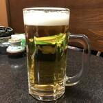 加瀬多 - 生ビール