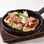 にんにくダレの豆腐ステーキ