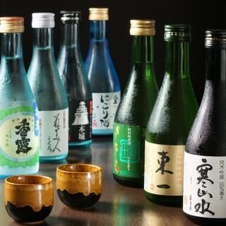 九州各地の日本酒、焼酎を取り揃えております!
