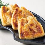 油揚げの納豆チーズ挟み焼き