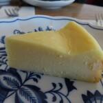 百塔珈琲 - チーズケーキ