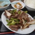 128808448 - ・焼肉定食 850円(税込)