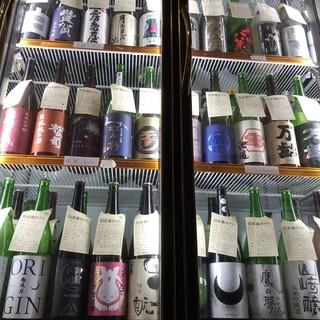 【日本酒】常時100種以上!全単品500円!