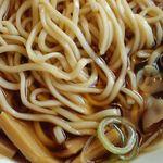 中華そばさとう - 津軽煮干し中華の麺
