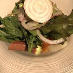 128814453 - タストゥー風 季節の有機野菜のサラダ。
