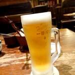 128815503 - 生ビール(中)750円(税込) 202004