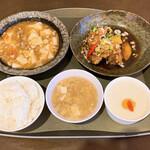 中国家庭料理 桃 - 料理写真:日替わりランチ