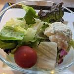 グリル&ダイニング マンハッタンテーブル - [料理] サラダ 全景♪W