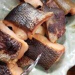 炙り居酒屋 うのっち - ランチ 鮭の幽庵焼き