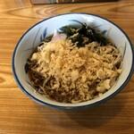 蕎麦ダイニング 喜楽庵 纔 - 料理写真:冷やしたぬき