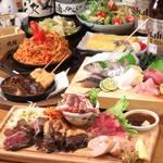 海鮮居酒屋 三ノ宮産直市場 - おまかせ4000円コース